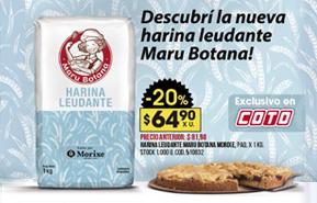 Farinha Leudante Maru Botana já está no supermercado
